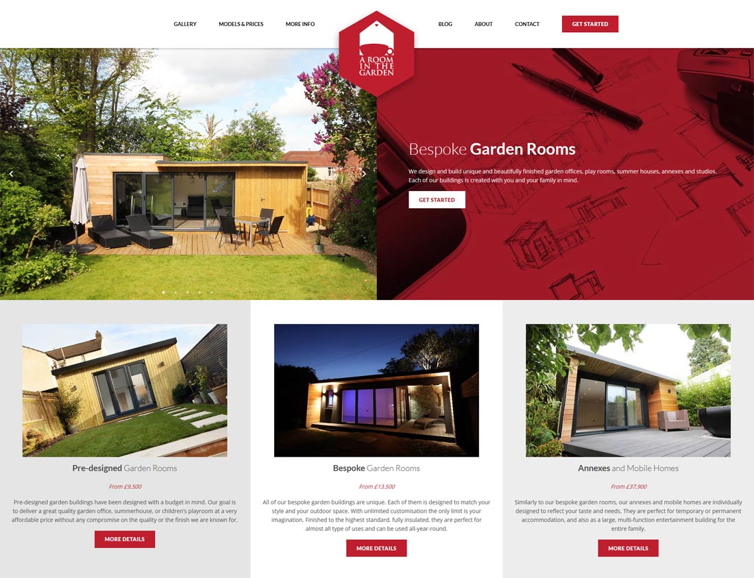 garden rooms website