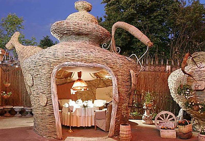 unusual summer house