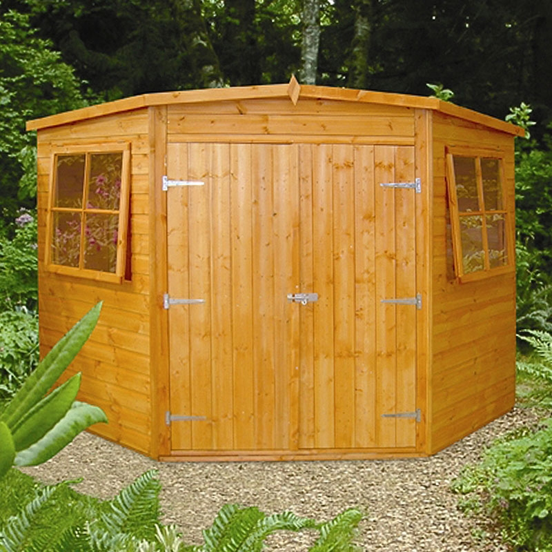 Shed conversion in garden office
