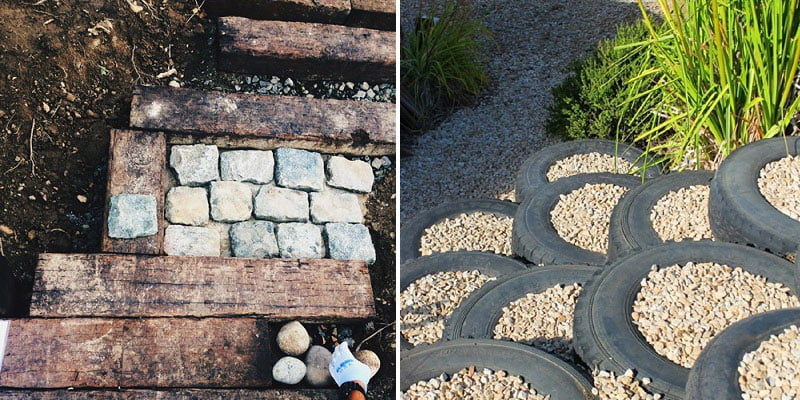Unusual garden path ideas